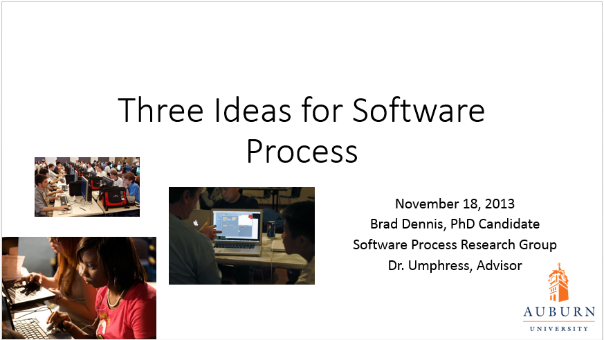 Three Ideas for Software Process